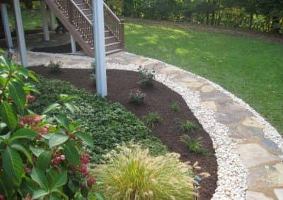 Natural Stone Walkway