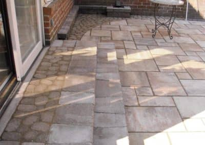 Patio and Landing