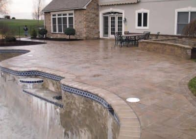 Pool Coping And Decking
