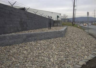 Commercial Retaining Wall