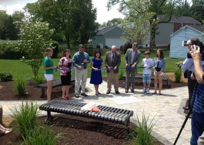 Dedication Ceremony Literacy Garden