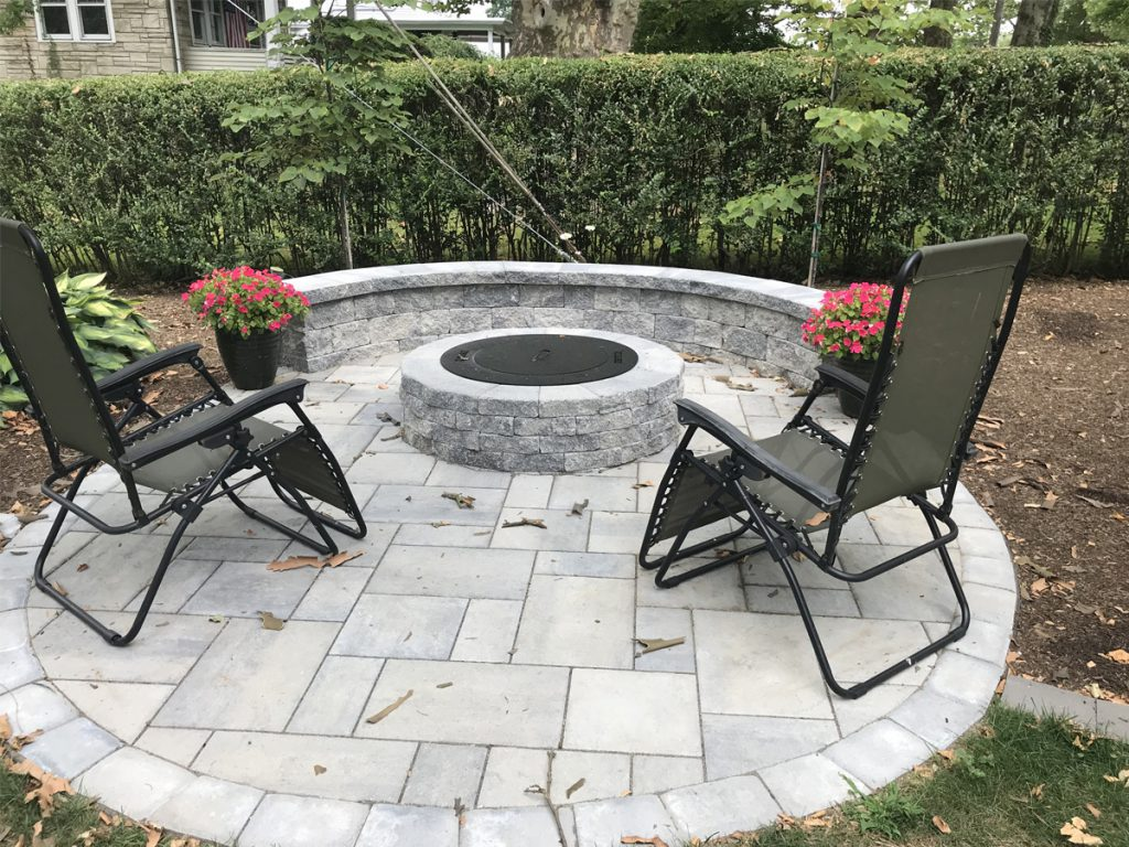 Image of: Fire Pits For Tight Spaces Schultz S Landscaping